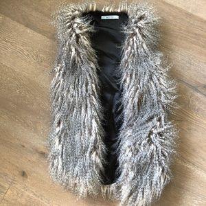 Awesome faux fur vest